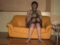 Mature Asian CD sex