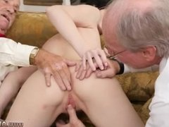 Tattooed daddy wants his little girl hot