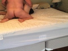 Wife fucks & cums on stranger with bigger dick than cuckold