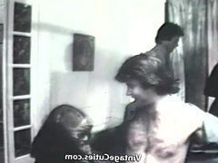 Husband Comes Home to Swingers Orgy (1960s Vintage)
