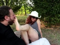 A Summer Afternoon - Outdoor Foot Licking