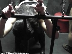 Degrading gangbangs of a submissive slutwife