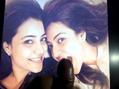 Cum tribute to Kajal and Nisha