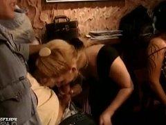 Orgy in the Night Club