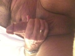Jerking off for a friend, with sound for a change.