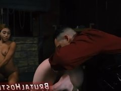Brutal dildo penetration anal fucks nurse
