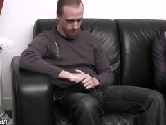 Married guy fucks busty bitch from behind