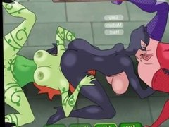 meet and fuck Gotham city sluts EP1 Poison Ivy gets fucked Hard
