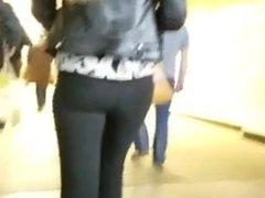 so nice russian ass in black pants