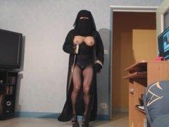 gros seins de musulmane qui ballottent