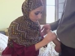 Real hidden cam arab I give her money to