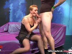 German Mom loves Double Penetration - German Goo Girls
