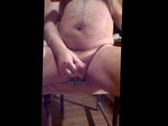 Verry hard nipple play