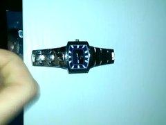 Cum on wristwatch 2