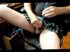 mature straight schoolgirl lingerie sounding urethral pumping vaccum sextoy