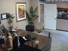 Real Cam Upskirt Secretary 3