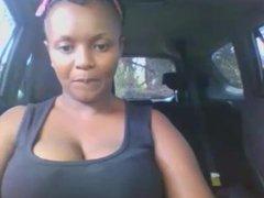African milf cums on webcam