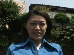 Japanese vintage outdoor madam