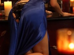Silent Night - AYANO in Blue Dress (Non-Nude)