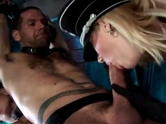 Two Horny Sluts In Latex Leather Suck and Fuck