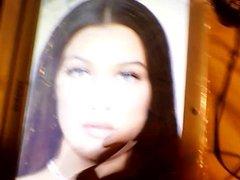 The Cumshot Ebony Facial Model Cream for Bella hadid
