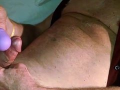 wife watches me cum with vibrator