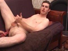 Brian Barrett Jacks Off With Anal Sex Toys