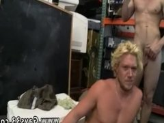 Hot guys rub dick together an cum free