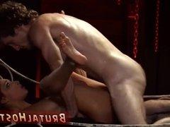 King fucks slave hot extreme anal bondage