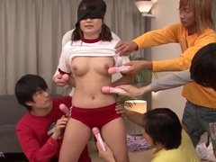 Ryo Asaka gets cock in mouth and jizz on face