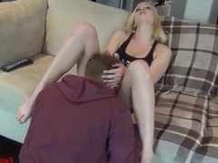 HORNY SISTER WITH HER BROTHER