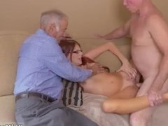 Old guy seduces Frannkie And The Gang Take