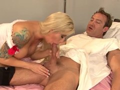 Hot Brooke Haven Plays Nurse With Huge Dick