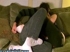 Young teen boy jerks off on table gay Aron