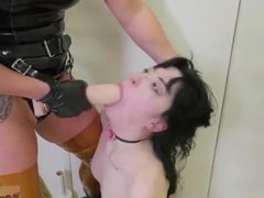 Brutal hard rough bondage gangbang This is