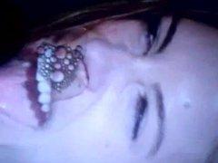 Maria Menounos hot spit cum tribute