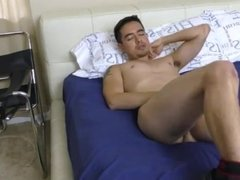 Jordan Cruz Finger His Ass and Jerk