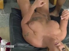 Kelli Staxxx gets fucked with a black cock