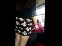 culito en mini en Bus