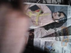 my cum tribute for actress rashi khanna. ... aah aah