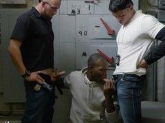 Interracial gay cops hot police movie xxx