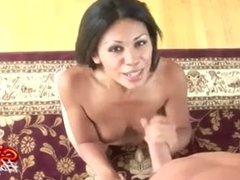 POV Handjobs And Cumshots With Cassandra Cruz