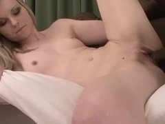 Homemade Filming my white girlfriend fuck my black cock and suck it dry