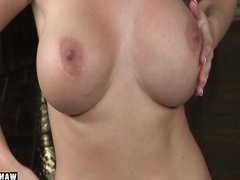 WANKZ- Melissa Lauren Shows Her Perfect Pussy