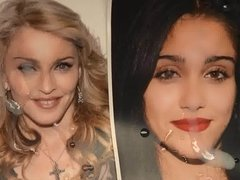 Cum Tribute: Madonna Louise Ciccone and Lourdes Leon
