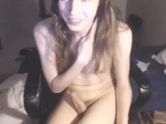 Hottest Shemale Masturbation home Video
