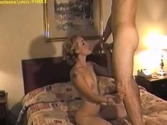 Big white cock oral sex exchange with tiny horny girlfriend