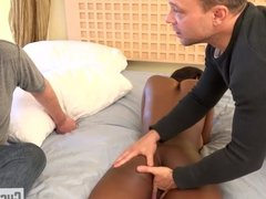 Jezabel Vessir fucks her masseur instead of her hubby