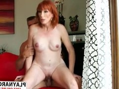 Great Not Step Mom Diamond Red Ride cock Well Young Step son