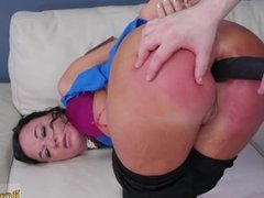 Couple dominates maid Fuck my ass, boink my